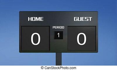 soccer match scoreboard random resu - soccer match...