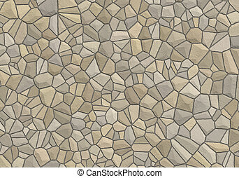 Stone wall - Texture of stone wall. Can be used for...