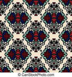Floral vector abstract  seamless pattern