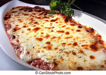 pâtes, lasagne