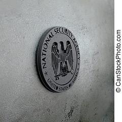 Logo/, embleme, nosotros, norteamericano, secreto, servicio,...