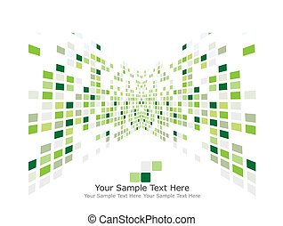 green checked background - Abstract checked business...