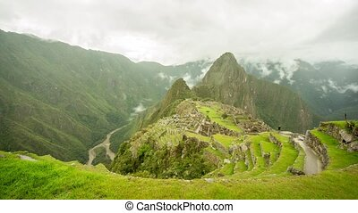 Machu Picchu Time lapse - Timelapse video footage of Machu...
