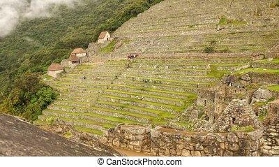 Machu Picchu Time lapse - Time lapse Machu Picchu in Peru -...