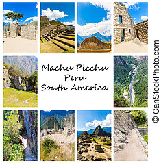 Mysterious city - Machu Picchu, Peru,South America The Incan...