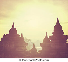Borobudur Temple,Java, Indonesia
