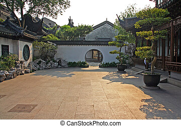 Chinese courtyard Illustrations and Clipart. 29 Chinese courtyard ...