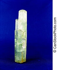 Aquamarine Crystals - An aggregate of aquamarine crystals,...