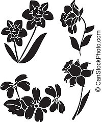 vector flowers 21 - Is a EPS 10 Illustrator file