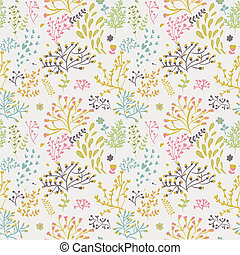 seamless pattern with leaf Floral pattern