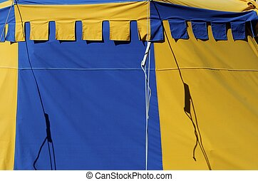 Circus - Close up of a circus tent