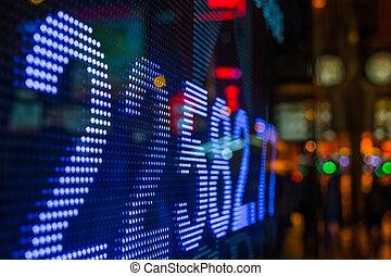 stock market price display - Hong Kong stock market price...