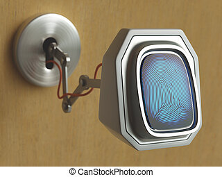 Changing Technology - Fingerprint scanner coming through the...