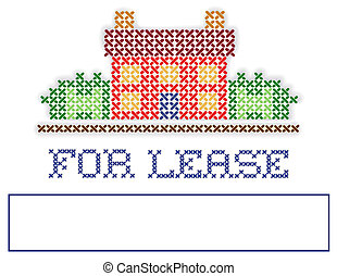 Real Estate FOR LEASE Yard Sign - For lease real estate yard...