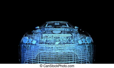 sports car - transmission of sports car