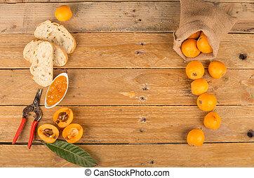 枇杷, 果醬