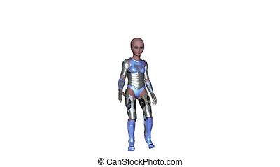 alien - transforming alien