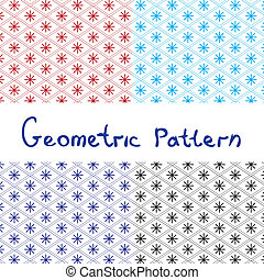 Japanese seamless geometric pattern.