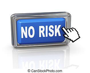 3d hand cursor button - no risk