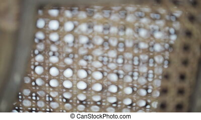 Texture Wicker chairs - Texture several wicker chairs at the...
