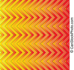bright golden background of geometric lines, vector