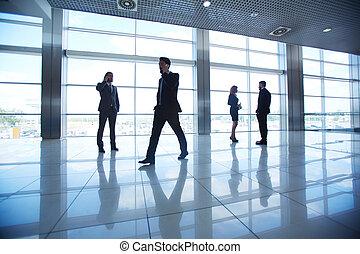 empresa / negocio, gente, oficina