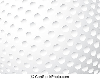 golf ball close up background