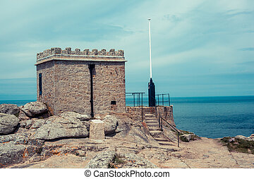 Old outpost on the coast - An old outpost on the coast