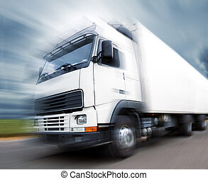 truck transport and speed