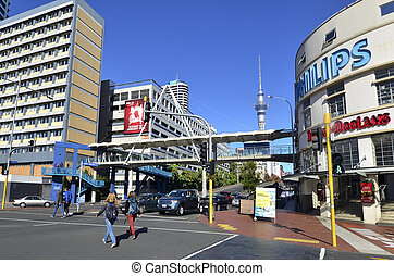 Auckland waterfront - New Zealand - AUCKLAND,NZ - JUNE 01...