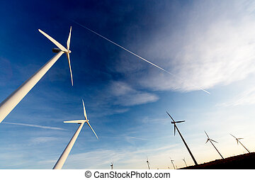 ecological energy concept - powerful and ecological energy...