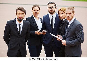 Confident employees