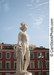 Historical Statue Center of Nice - Historical Statue Center...