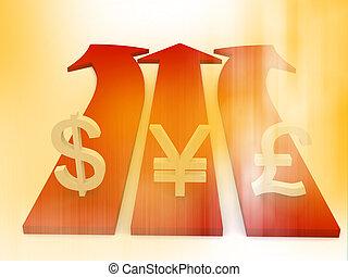 Forex market background