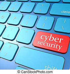 セキュリティー,  Cyber, キーボード