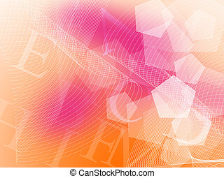 wavy business abstract BG