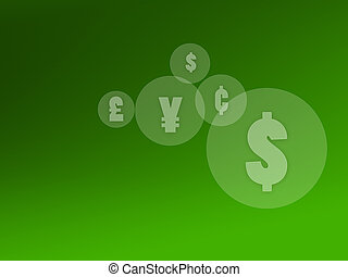 currency symbol background