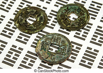 I Ging, Chinese divination with coins
