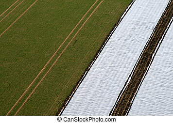 Aerial Pictrue of agriculture - Aerial Pictrue: A...