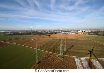 Aerial Pictrue of agriculture - Aerial picture of industry...