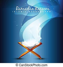 quraan book illustration