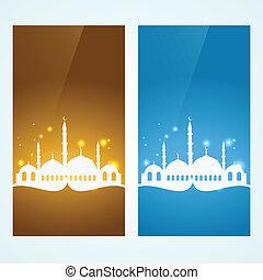 muslim background set