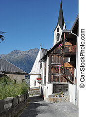 Ardez - typical suisse village