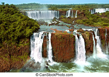 Iguazu waterfalls Argentina and Brazil