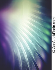 Power concept, Abstract fractal texture, wisps and lights,...