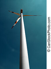 Wind Energy - A Wind Energy Park with Wind Mills