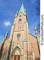 Linkoping cathedral - Famous cathedral of Linkoping, Sweden.