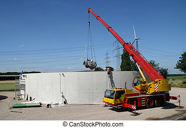 Building Site Of Biogas Plant - Biogas Plant, Building Site...