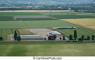 Biogas, potencia, planta