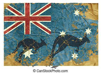 Vintage Australian Flag